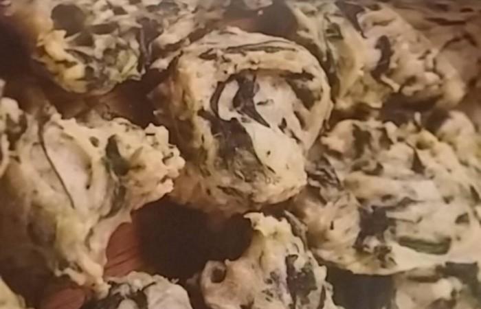 Špenátové pusinky